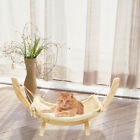 Luxury Cat Hammock Large Soft Plush Bed 35*71cm Wood Hanging House Pets Supply