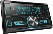 Kenwood Double 2-DIN Car Stereo CD Receiver Player w/ Bluetooth USB- DPX503BT