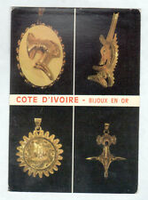 ABIDJAN (COTE D'IVOIRE) ARTISANAT / BIJOUX ETHNIQUE en OR