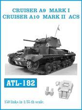 Friulmodel Metal Tracks for 1/35 Cruiser A9 Mark I / Cruiser A10 Mark II ACS