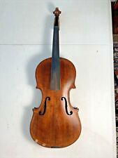 Antique LONDON 1882 Finely Made VIOLIN with Tiger Maple Back & Neck #4