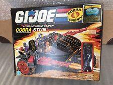 """GI JOE Cobra STUN w/Motor Viper MIB Vintage 1986 Unassembled New 3 3/4"""" ARAH"""