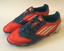 Adidas Mens F50 F5 Football Soccer Cleats Shoes US Sz 9 V21455 Orange Blue White