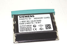 Siemens Simatic S7 6ES7951-1AL00-0AA0 Memory Card MC SRAM 2 MB Top