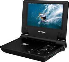 Sylvania SDVD7015 Portable Rechargeable DVD Player with Swivel Screen