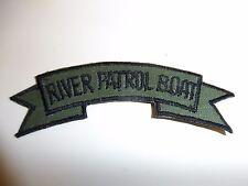 b7308 US Navy Vietnam River Patrol Boat tab OD IR27E