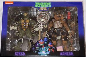 NECA Teenage Mutant Ninja Turtles Tokka Rahzar Set Secret of the Ooze TMNT MOVIE