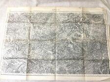 WW1 Carte Français Militaire Epinal France Grand Guerre Bataille 1916