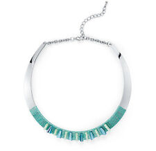 Turquoise Beaded Collar Necklace