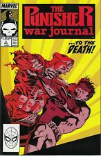 Punisher War Journal 5 VF 1989 Comic Book Jim Lee