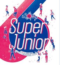 K-POP SUPER JUNIOR 6th Repackage Album [Sexy, Free & Single] SPY CD+Booklet