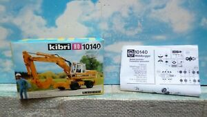 Kibri : engin de travaux public   - ref : 10140   ech ho