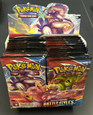 Pokemon Battle Styles Booster Pack Singles Sword and Shield Unsorted Free Ship