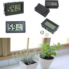 1Pcs Digital LCD Indoor Temperature Humidity Meter Gauge Thermometer Hygrometer