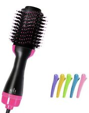 Hair Dryer Brush, DIOZO One Step Ionic Hair Straightener Brush 3-IN-1