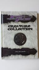 Creature Collection core rulebook Sword & Sorcery HB USED d20 Scarred Lands