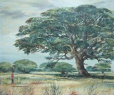JOHN MORRIS Signed Original Impressionist Oil Painting - LISTED