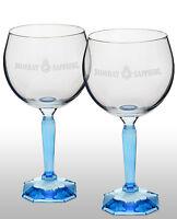 Bombay Sapphire Gin Balloon Glass New X 2