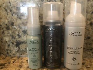 AVEDA assorted travel styling products mix and match