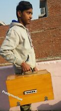 HARMONIUM MINI SUITCASE SIZE HANDY PORTABLE  + GIG BAG +CASE BOX + FREE SHIPPING
