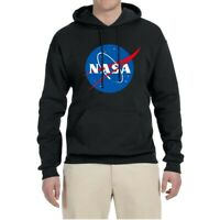 Men Hoodie Sweatshirts NASA Space Sweater Jacket Coat Hooded Pullover Unisex