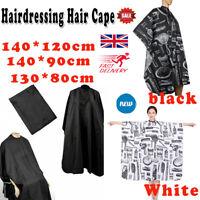 New Professional Hair Cutting Salon Barber Hairdressing Unisex Gown Cape Apron@