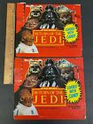 VINTAGE+1983+TOPPS+STAR+WARS+RETURN+OF+THE+JEDI+HOBBY+BOX+TOP+LOT+OF+2+%28MS%29