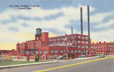 Girard Ohio 1940s Postcard The Ohio leather Company Trumble County