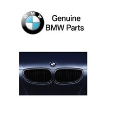 For BMW E60 5 Series 2004-2010 Pair Set of 2 Black Kidney M Performance Grilles