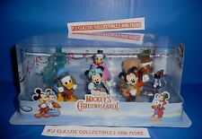 Disney Store Mickey's Christmas Carol Figure Playset (6 Set) Special Edition