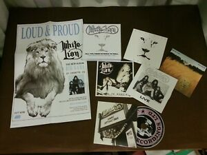 WHITE LION - All you need is Rock N Roll (NEW 5 CD BOX SET + POSTER)  2020