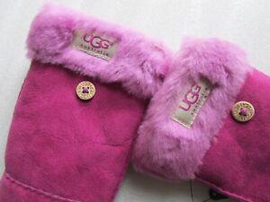 UGG Gloves Shearling Flip Mitt Pop Top Mittens Colors Sizes New