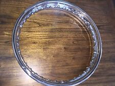VINTAGE BMW R69S R60/2 R50/2 NEW POLISHED STAINLESS STEEL WHEEL  2.15X18