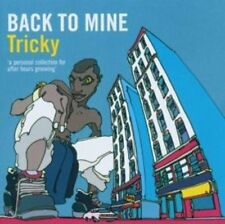 BACK TO MINE - TRICKY -CD-NEW & SEALED-Fast Ship! -CD/XX-17/15+B-UP