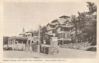 LAKE PLACID NY – Lake Placid Club Forest Towers and Forest Hall Entrance