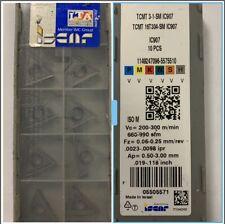 N10 Inserti ISCAR TCMT16T304-SM IC907 Per ACCIAIO ......non SANDVIK-SECO-KORLOY