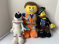 Lego Movie 2 Emmet Lucy Sweet Mayhem Plush Stuffed Toys