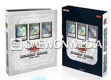 """YUGIOH CARDS """"Number's Binder - NB01-KR001,002,003"""" / Korean Ver"""