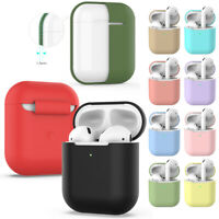 Silicone Case Cover Sleeve Protector Wireless Earphones Pouch For Airpods 2