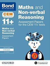Bond 11+: Maths and Non-verbal Reasoning Assessment Papers for th... by Bond 11+