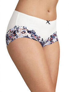 Ladies Ex M/&S 2 Pack Cotton Rich Body Shaping Firm Control Full Briefs Size 8-22