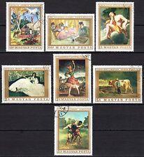 Hungary - 1969 Paintings - Mi. 2506-12 VFU