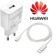 Huawei EU 2 PIN European Quick Charge Phone Charger Adapter & USB Type C Cable