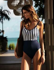 Fantasie Cote D Azur Scoop Neck Swimsuit 6749 Womens Underwired Swimming Costume