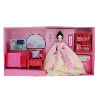 Bambola di bambola cinese di poesia orientale personalizzata con accessori
