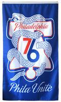 Philadelphia 76ers NBA Flag 3x5 ft Vertical Sports Basketball Banner