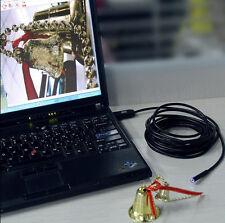 5M 6LED Waterproof USB Borescope Inspection Endoscope Snake Tube Camera Mirror