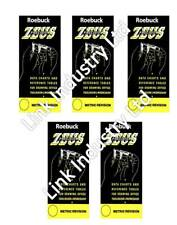 5 X Deal-libro de datos de métrica los ingenieros de precisión Zeus gráficos y tablas de referencia