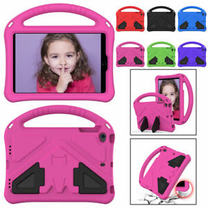 """For iPad Air Mini 1 2 3 4 5 Pro 11"""" 9.7"""" Tablet Stand Kids Shockproof Case Cover"""