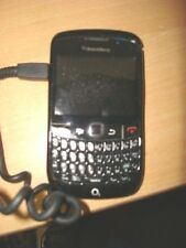 BLACKBERRY CURVE MOBILE PHONE WITH CAR  CHARGER AND CASE